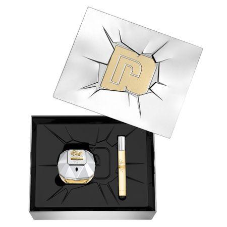 Lady Million Lucky Paco Rabanne - Perfume feminino + Lção Corporal - Kit