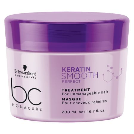 Schwarzkopf BC Keratin Smooth Perfect - Máscara de Tratamento - 200ml