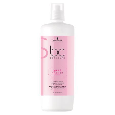 Shampoo Sem Sulfato BC pH 4.5 Color Freeze Micellar Schwarzkopf - 1L