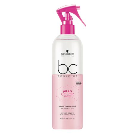 Schwarzkopf BC pH 4.5 Color Freeze - Leave-in Spray - 400ml