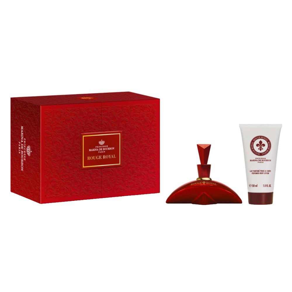 2f0e3458c5 Kit Marina de Bourbon Rouge Royal - Eau de Parfum + Body Lotion ...