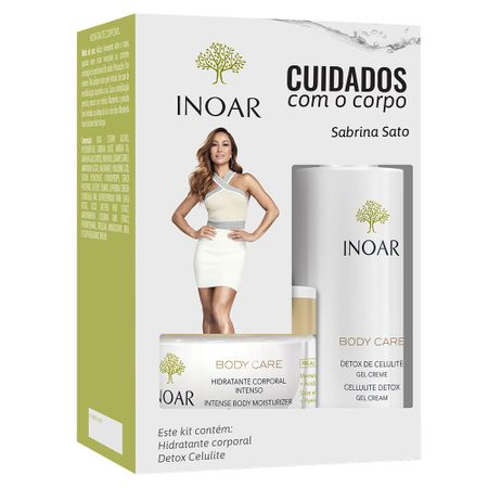 Inoar Body Care Cuidado Diário Kit - Hidratante + Gel Creme - Kit
