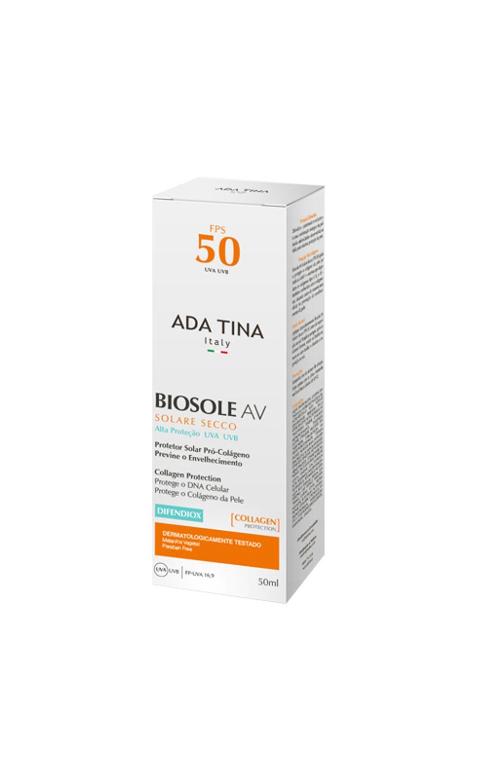 Foto 1 - Biosole AV Ada Tina - Protetor Solar - 50ml