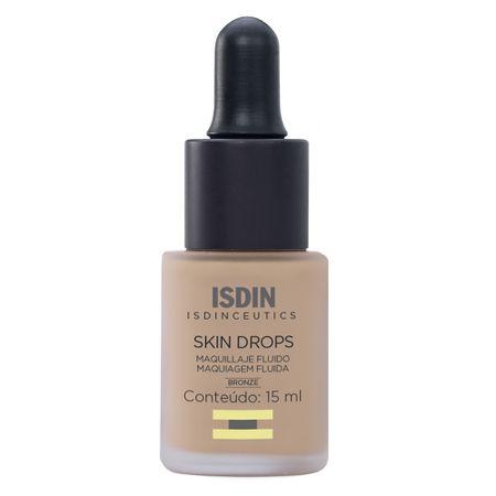 Maquiagem Fluída Isdin - Isdinceutics Skin Drops - Bronze