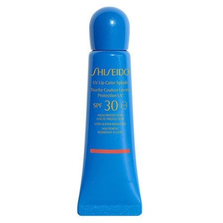 Hidratante Labial Shiseido - UV Lip Color Splash FPS30 - Red