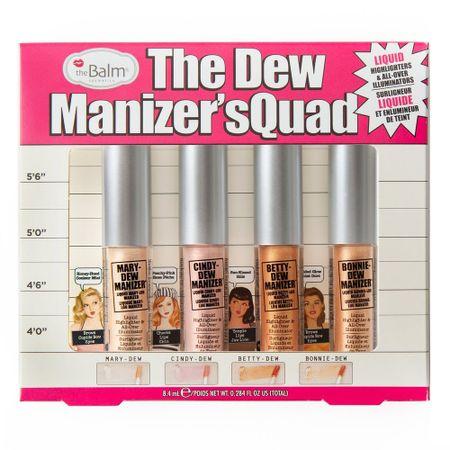 The Dew Manizer Squad TheBalm - Kit de Iluminadores - Kit