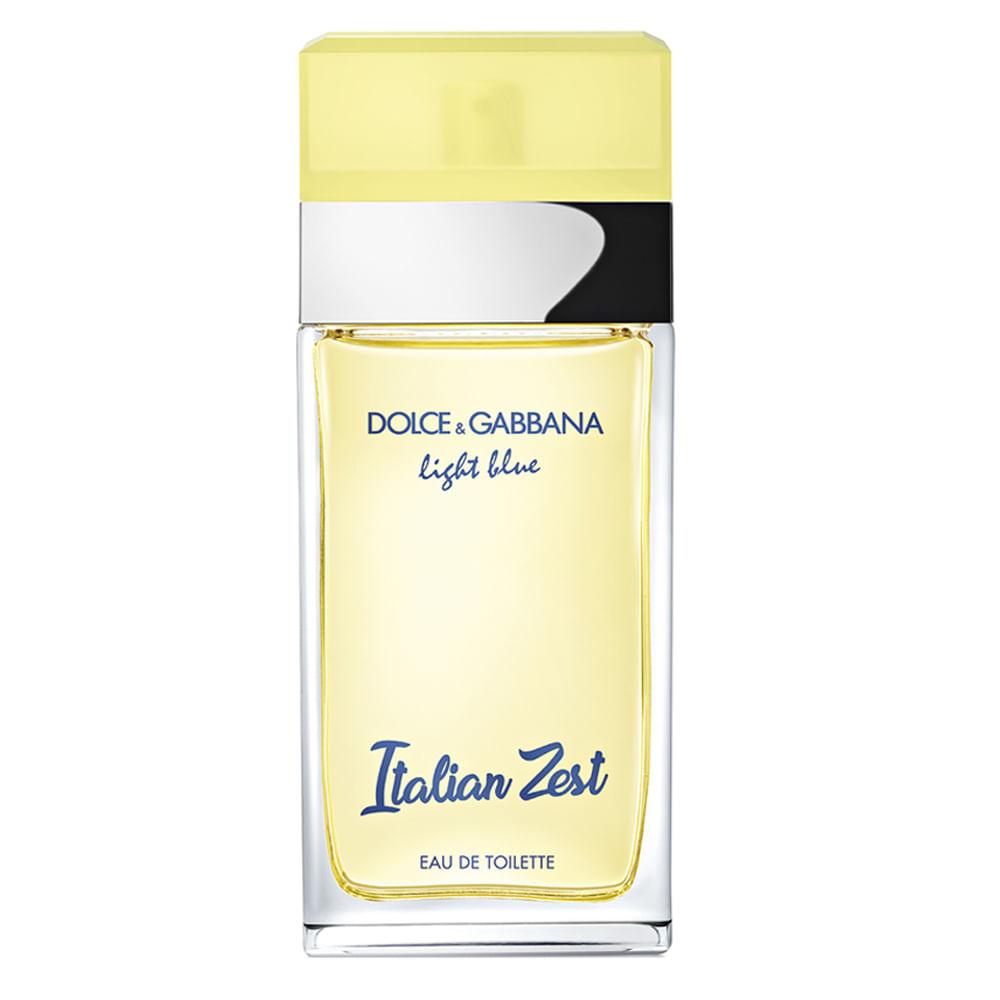 fc2a1126ae28d Perfume Light Blue Italian Zest Dolce   Gabbana - Feminino - Época ...