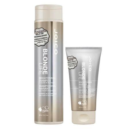 Joico Blonde Life Brightening Kit - Máscara + Shampoo - nenhuma
