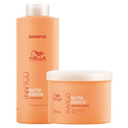 Wella Professionals Invigo Nutri-Enrich Kit - Shampoo + Máscara - Kit