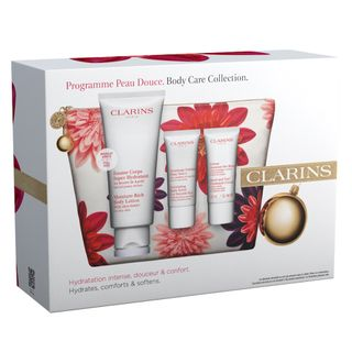 clarins-body-care-collection-kit-locao-corporal-esfoliante-creme-para-maos-e-unhas