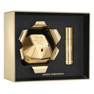 43dea7a6ad ... Paco Rabanne Lady Million Xmas Collector Kit - Perfume Feminino EDP +  Desodorante ...