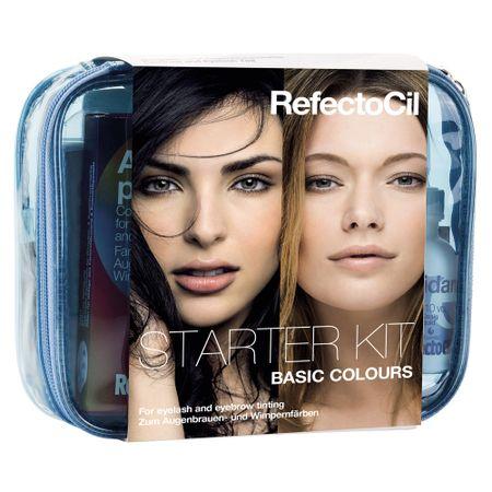 Conjunto Tons Clássicos RefectoCil - Starter Cores Básicas - kit