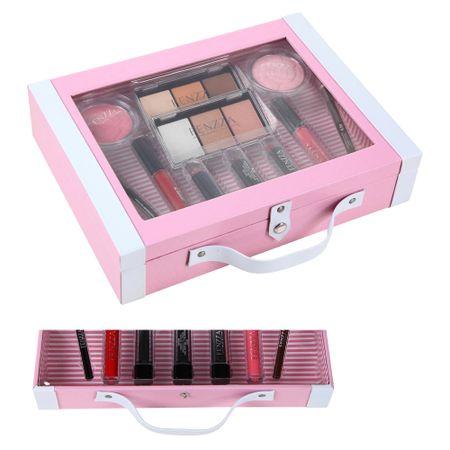 Maleta de Maquiagem Fenzza - Antique Collection Pink - Maleta de Maquiagem