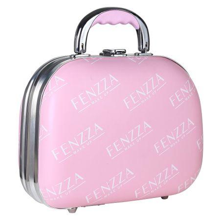 Maleta de Maquiagem Pequena Fenzza - Pin Up Lettre Collection Pink - Maleta de...