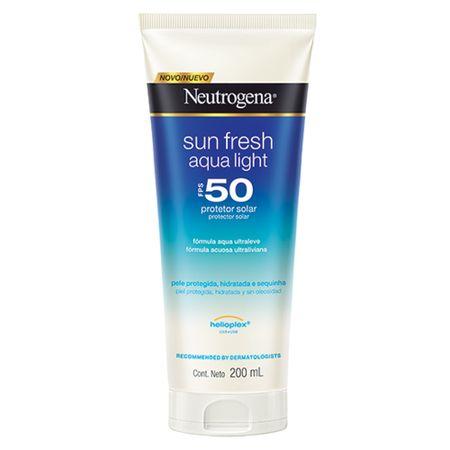 Protetor Solar Neutrogena Sun Fresh Aqua Light FPS50 - 200ml