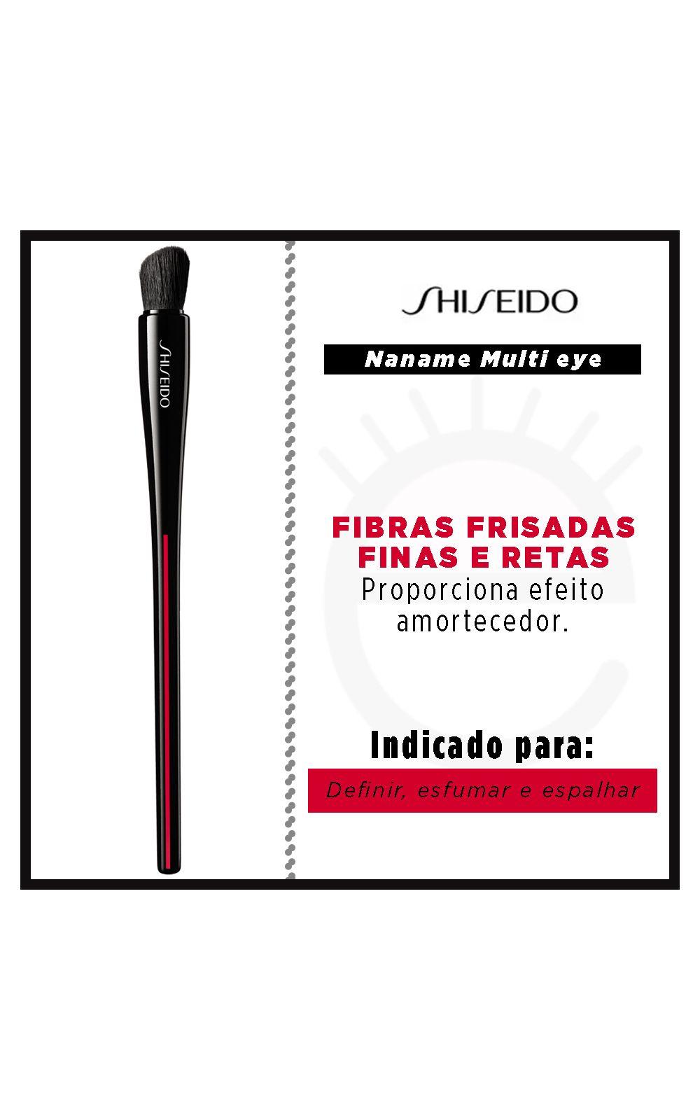 Foto 2 - Pincel para Olhos Shiseido - Naname Multi Face Brush - 1 Un