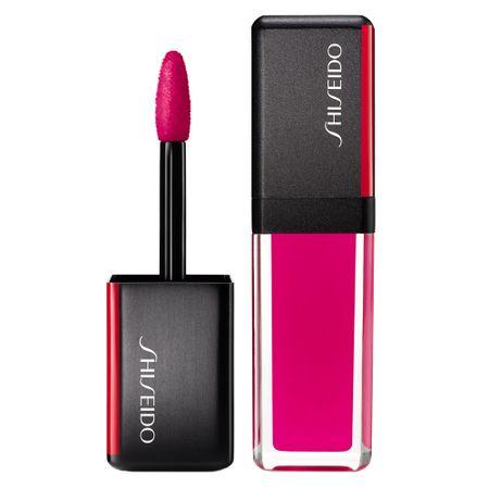 Batom Líquido Shiseido - LacquerInk LipShine - 302 Plexi Pink