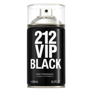 008860fbd9 Menor preço em 212 Vip Men Black Carolina Herrera - Body Spray - 250ml