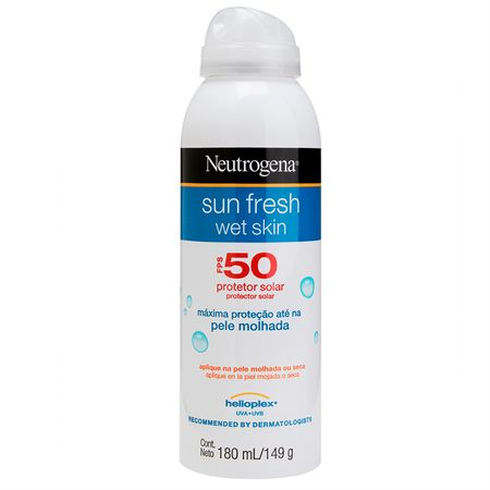 Protetor Solar Neutrogena Sun Fresh Wet Skin FPS50 - 180ml