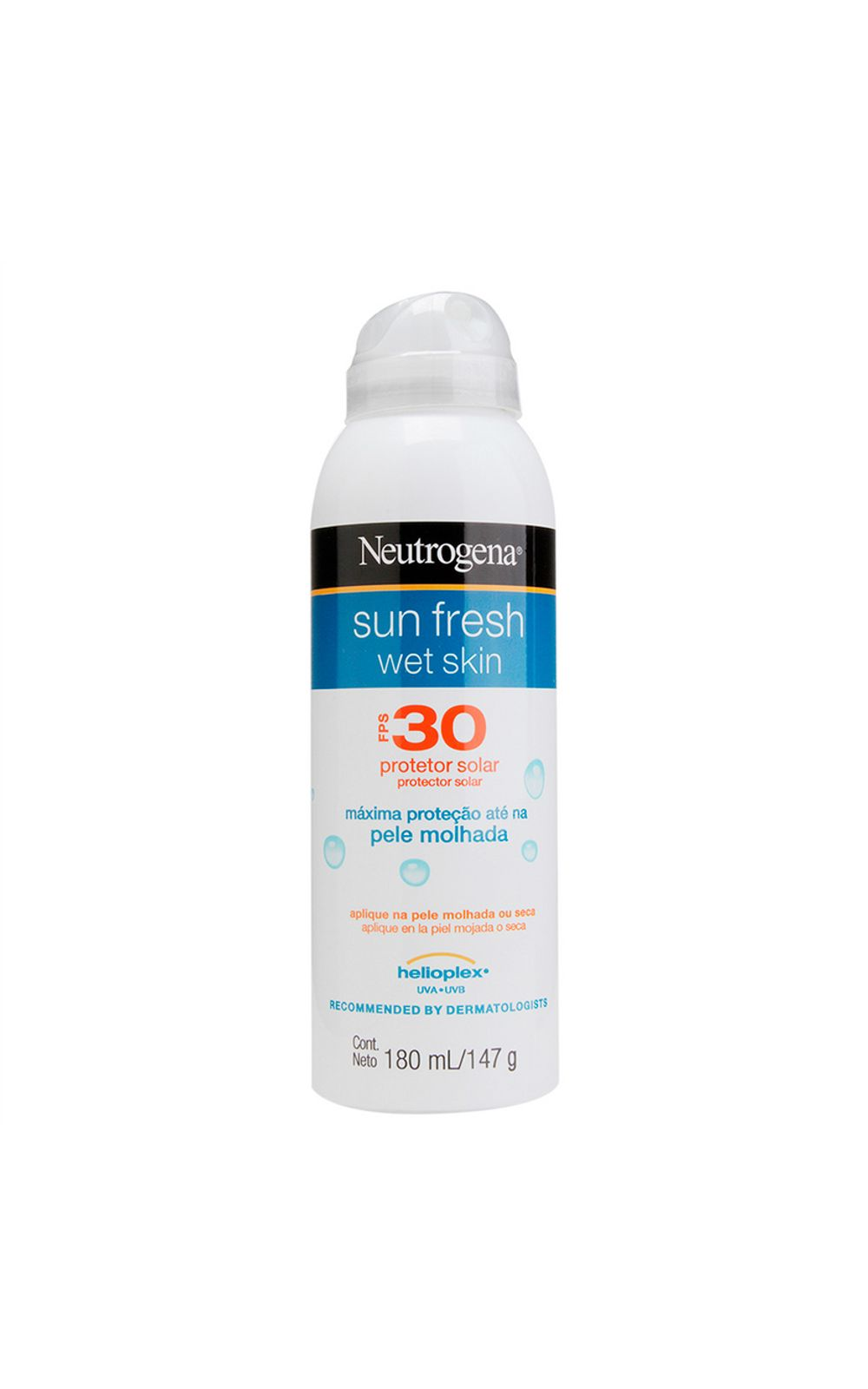 Foto 1 - Protetor Solar Neutrogena Sun Fresh Wet Skin FPS 30 - 180ml