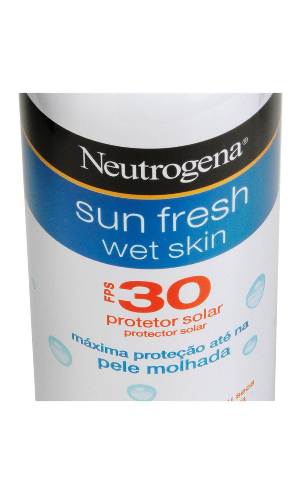 Foto 2 - Protetor Solar Neutrogena Sun Fresh Wet Skin FPS 30 - 180ml