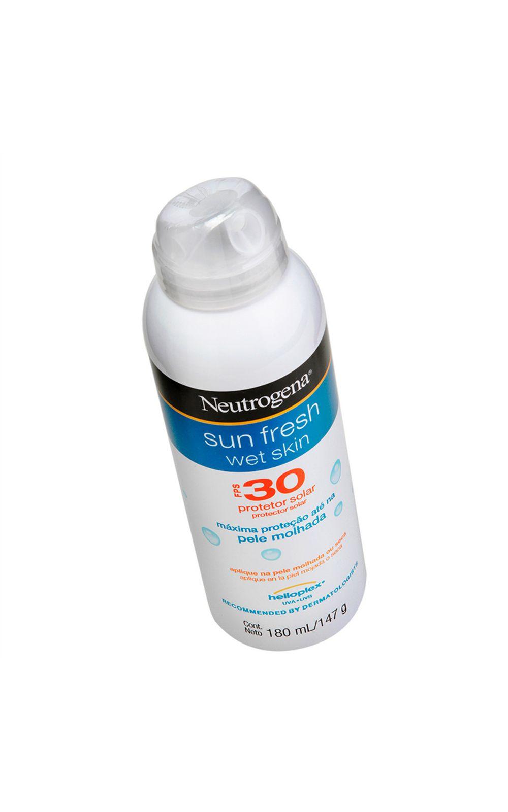 Foto 3 - Protetor Solar Neutrogena Sun Fresh Wet Skin FPS 30 - 180ml