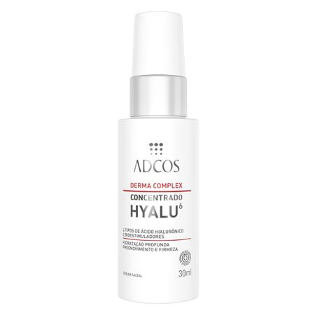 Derma Complex Concentrado Hyalu 6Adcos - Sérum Facial - 30ml