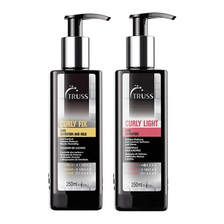 Truss Professional Curly Kit - Shampoo + Spray - Kit