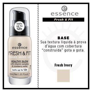 cbefe5c83 Base Líquida Essence - Fresh & Fit Awake - Época Cosméticos