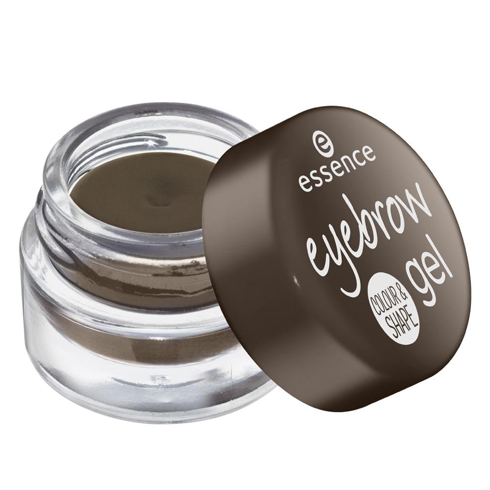 Delineador em Gel para Sobrancelha Essence - 01 Brown