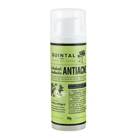 Fluido Hidratante Antiacne  Quintal - Terra de Cores - 50g