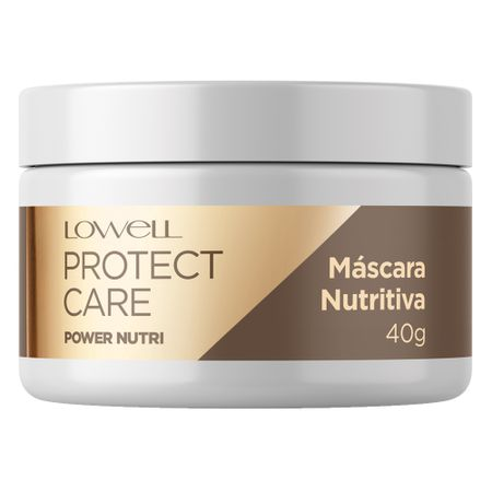 Máscara Lowell Protect Care Power Nutri - 40g