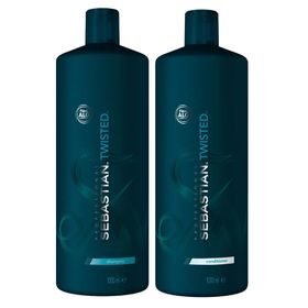 Kit-Twisted-Elastic-Detangler-Sebastian---Shampoo---Condicionador---Tamanho-Profissional