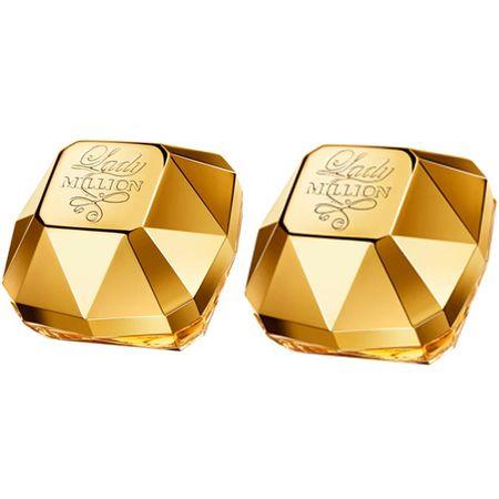 Paco Rabanne Lady Million Kit - Perfumes Feminino 2x 30ml - Kit