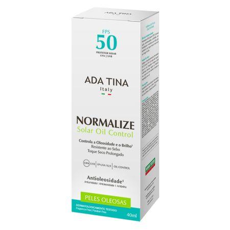 Protetor Solar Ada Tina - Normalize Solar Oil Control FPS 50 - 40ml