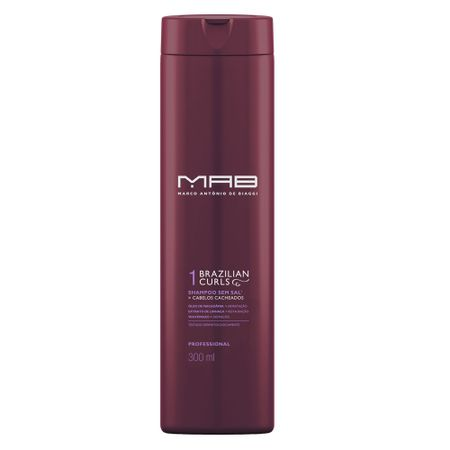 Shampoo Brazilian Curls MAB - 300ml