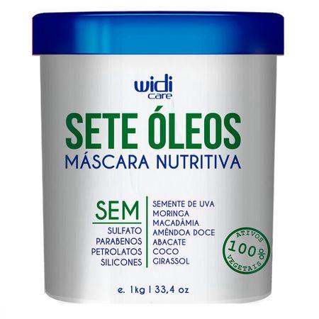 Widi Care Sete Óleos - Máscara Nutritiva - 1Kg