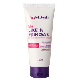 Creme-Revitalizante-para-Pernas-e-Pes-Pink-Cheeks-Like-a-Pincess-