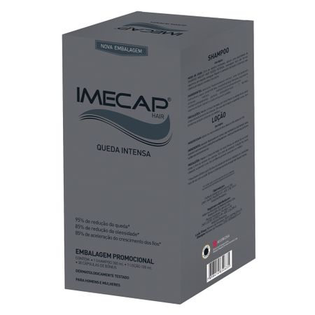 Imecap Hair Queda Intensa Kit - Creme + Cápsulas - Kit