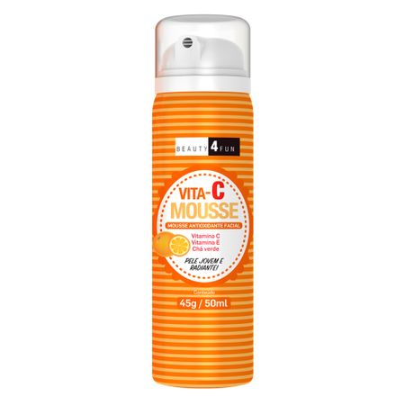 Mousse Facial Beauty 4 Fun - Vita C Mousse - 50ml