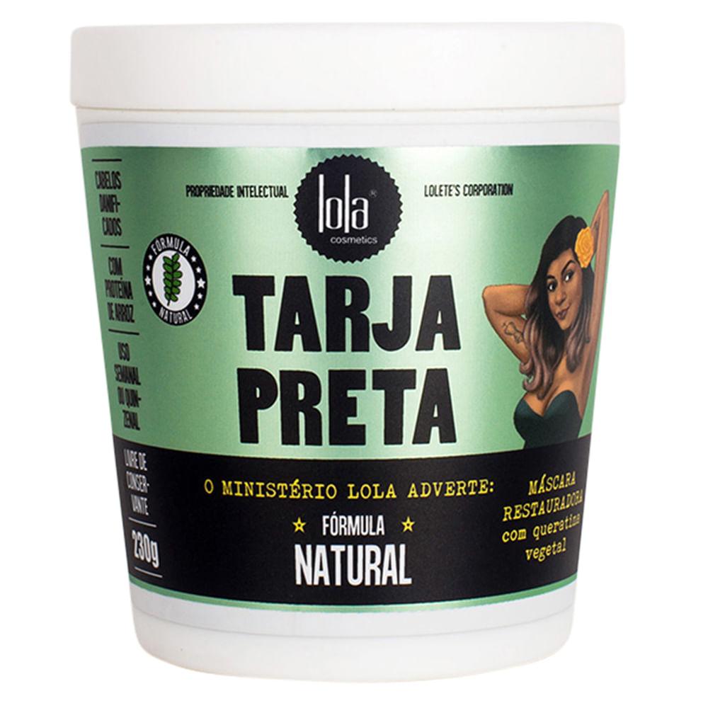 Lola Cosmetics Tarja Preta Queratina Vegetal - Máscara de Reconstrução