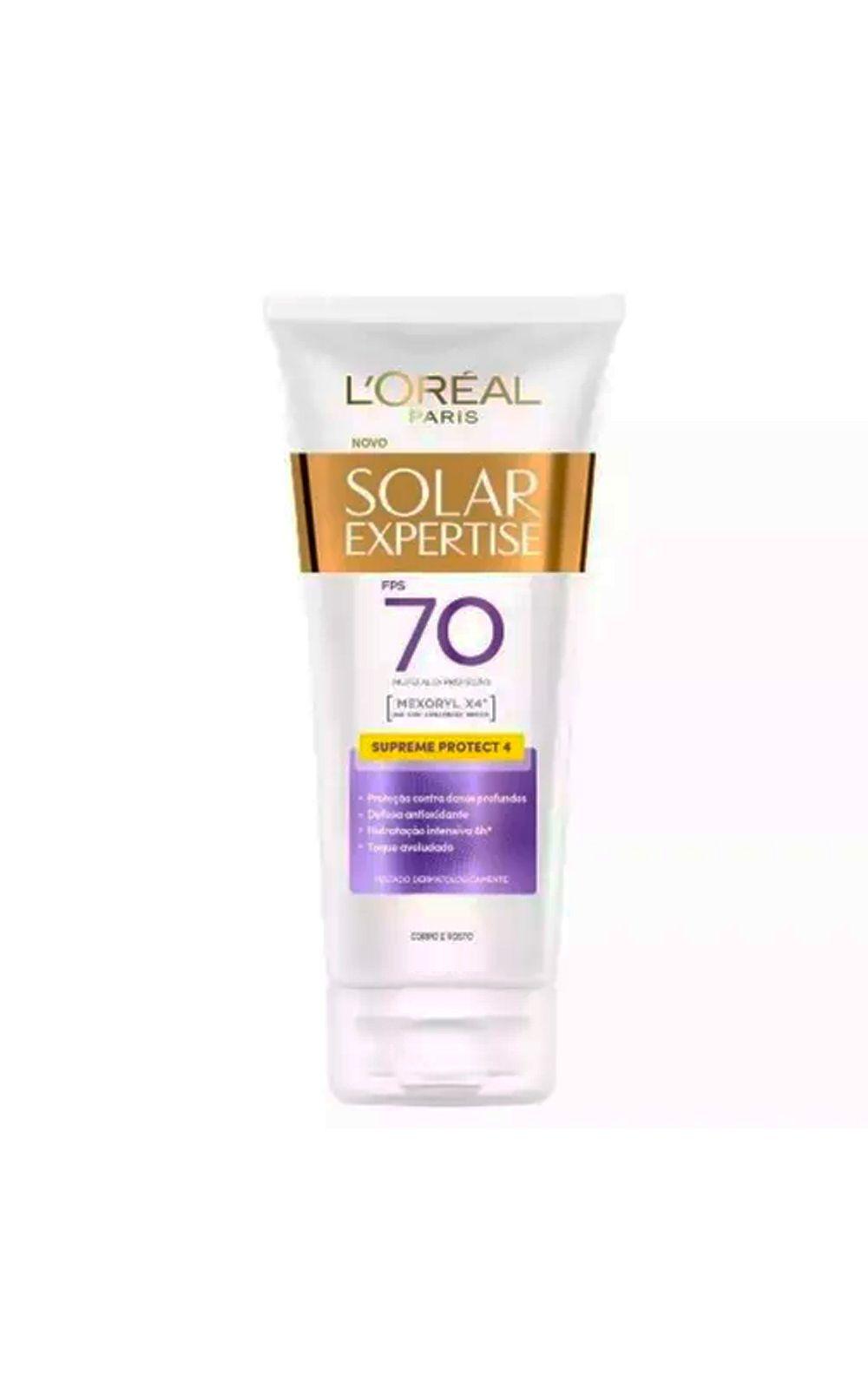 Foto 2 - L'Oréal Paris Solar Expertise Ganhe Solar Expertise Facial Antirrugas Kit - Protetor Solar Corporal + Protetor Solar Facial - Kit