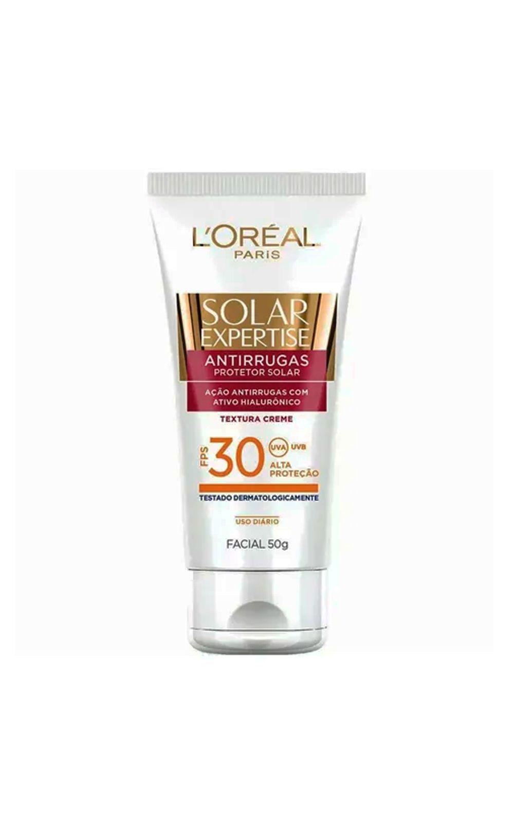 Foto 3 - L'Oréal Paris Solar Expertise Ganhe Solar Expertise Facial Antirrugas Kit - Protetor Solar Corporal + Protetor Solar Facial - Kit