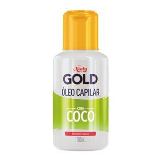 b4dc7b9e7 ... Niely Gold Hidratação Poderosa Água de Coco - Óleo Capilar - 100ml ...