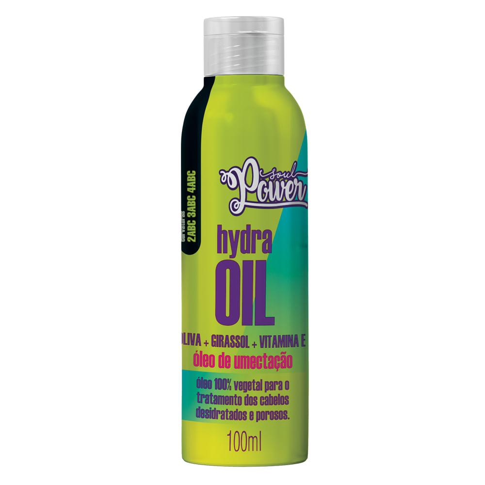 Óleo de Umectação Soul Power - Hydra Oil Oliva + Girassol + Vitamina E