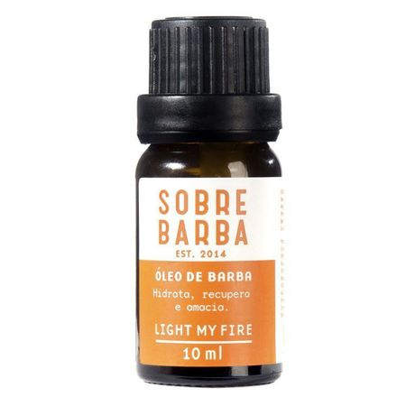 Óleo para Barba Sobrebarba - Light My Fire - 10ml
