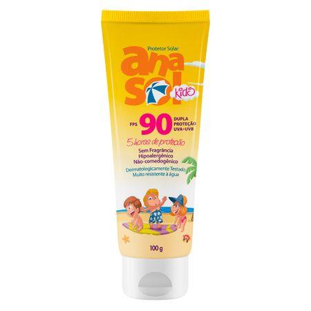 Protetor Solar  Kids FPS 90 Anasol - 100g