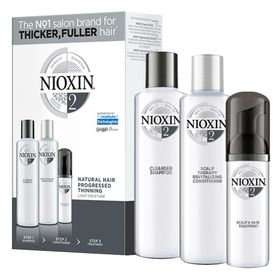 Nioxin-Trial-Kit-Sistema-2---Shampoo---Condicionador---Leave-in