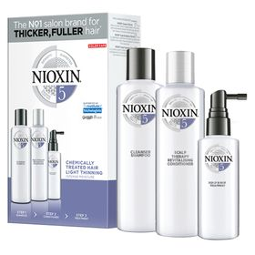 Nioxin-Trial-Kit-Sistema-5---Shampoo---Condicionador---Leave-in