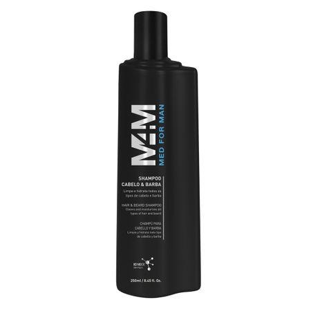 Shampoo Mediterrani Med For Man Cabelo & Barba - 250ml